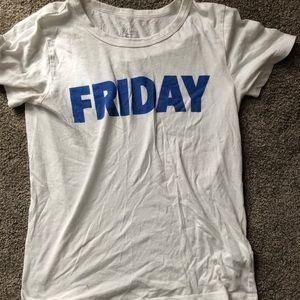 """J. Crew """"Friday"""" tee"""